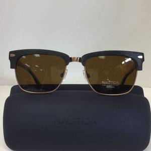 Nautica N 6219S 221 Copper Polarized Sunglasses